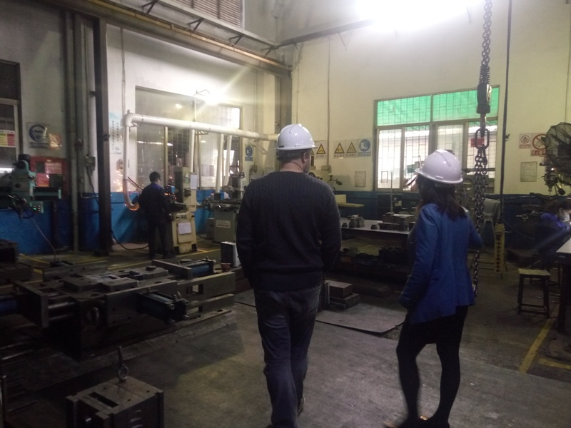 Welcome Customer Visiting Die Casting Work Shop