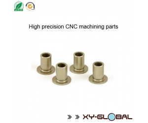 CNC machined parts corporation, Precision aluminium CNC machining  suspension arm bushings