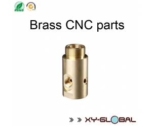 CNC metal fabrication companies, Brass CNC Lathe Connector Shaft