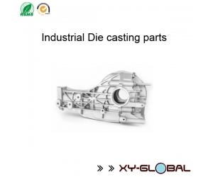 China Die casting parts suppliers, Custom made aluminium Die casting axle housing parts with CNC machining