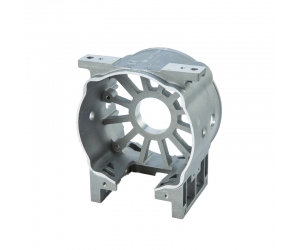 Customized Powder Coated Zinc Alloy Die Casting Parts with  High Precision