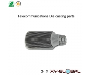 Die casting mould supplier china, Aluminum A356 Die cast telecommunication equipment heatsink