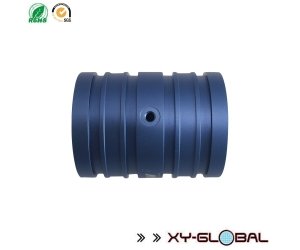 Low Volume Production CNC Machining Turning Threaded hollow tube