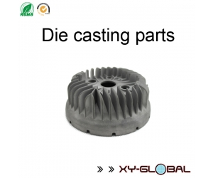Motorcycle engine aluminum radiator made by precise die casting