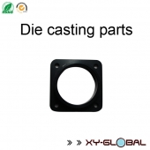 China Black painted zamak die casted connector factory