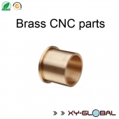 China Brass CNC lathe machining bracket flange factory