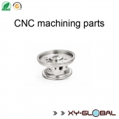 China CNC machined parts companies, Steel CNC lathe bearing housing parts factory