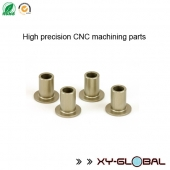 China kilang CNC machined parts corporation, Precision aluminium CNC machining suspension arms bushings