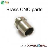 China China CNC Machined Parts distributor, Zinc plated brass cnc machining connect tube factory