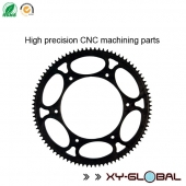 China China CNC machined parts factory, Precision rear sprockets with CNC machining factory