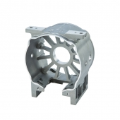 China Customized Powder Coated Zinc Alloy Die Casting Parts with  High Precision factory