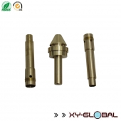China ISO SGS Certificate  CNC Turning Coupling brass connectors connecting shaft factory