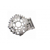 Chine ISO/TS16949 custom snd casting part aluminum die casting parts with black powder coating usine
