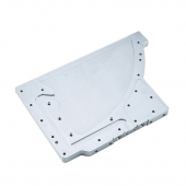 China OEM Chinese CNC Machining Aluminium Plate Part, ISO 9001 Quality, Aluminium  Parts factory