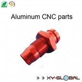 China OEM aluminum die casting mold, Red anodized CNC aluminum alloy car parts factory