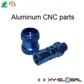 China aluminium CNC machining factory, Aluminum CNC machining parts with blue anodized treatment factory
