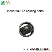 China aluminum cast manufactory, Anodized Die casting joint with blacken finish factory