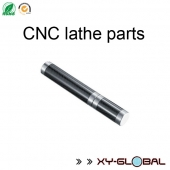 China anodized aluminum cnc lathe machining caps for carbon fiber tube case factory