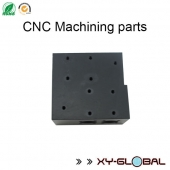 China anodized black aluminum cnc machining products factory