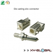 China china Die casting parts on sales, Die casting zinc connector factory