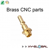 China cnc machining parts importers, Brass CNC fittings parts factory