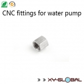 China cnc machining parts importers, CNC fittings for water pump factory