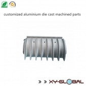 China customized aluminium die cast machined parts factory