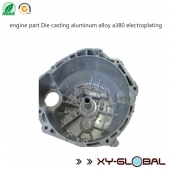 China engine part Die casting aluminum alloy a380 electroplating factory
